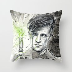 Doctor Who: The 11th Doctor Throw Pillow