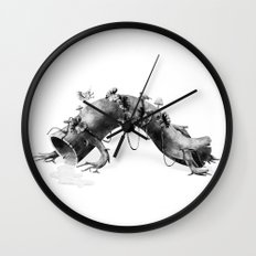 Creature Forest  Wall Clock