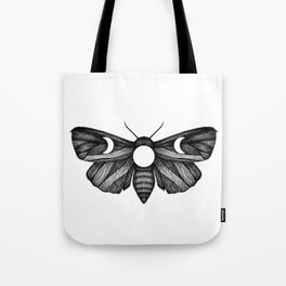 Moon Moth Tote Bag
