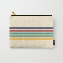 Rainbow Stripes III Carry-All Pouch