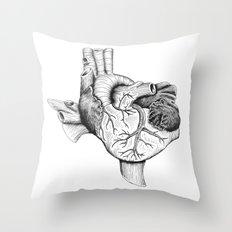 The Heart of Texas Throw Pillow
