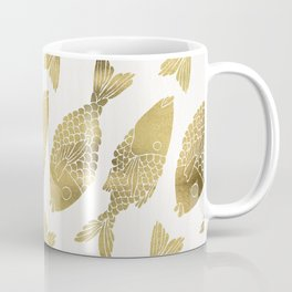 Indonesian Fish Duo – Gold Palette Coffee Mug