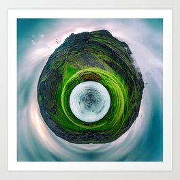 Iceland Polar Panorama Art Print