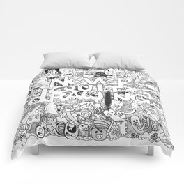 Doddle   Never Quit Drawing Comforters