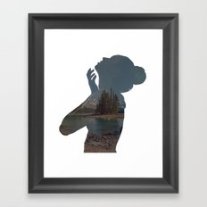See Right Through Framed Art Print