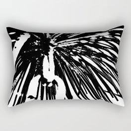 Iron Umbrella Rectangular Pillow