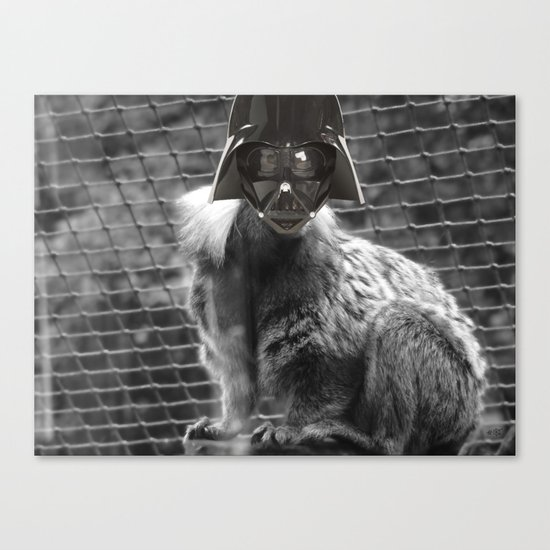 The Ape out of StarWars Canvas Print
