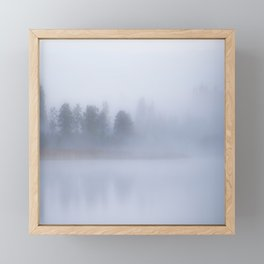 Foggy Morning #decor #buyart #society6 Framed Mini Art Print