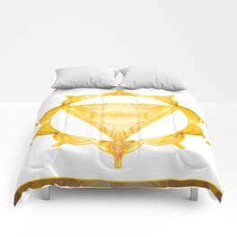 You Are My Sunshine Abstract Chakra Art  Comforters