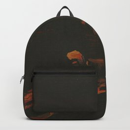 Campfire Flame Backpack
