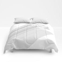 love minimalism Comforters