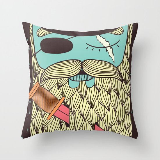Captain Hope Throw Pillow