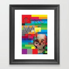 Chromatic Remix Framed Art Print