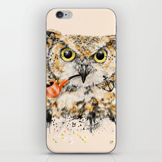 Mr.Owl II iPhone & iPod Skin