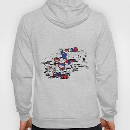 French village Hoody