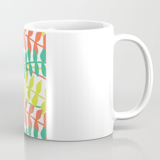 seagrass pattern - tropical Mug