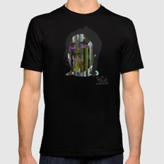 Input, Lost in Wonder, Lost in Love, Lost in Praise, forevermore  Mens Fitted Tee Black MEDIUM