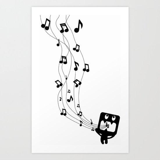 Sing Sing Sing Art Print