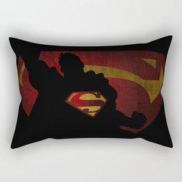 The man of sky Rectangular Pillow