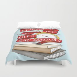 Reading is One of Life's Best Adventures Duvet Cover