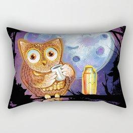 Night Shift Rectangular Pillow