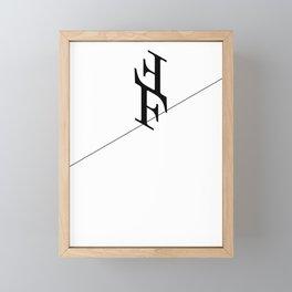 The Funambulists Framed Mini Art Print