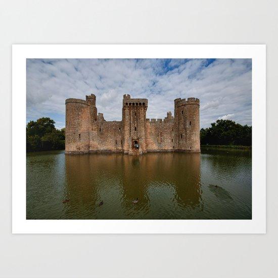Bodium Castle Art Print