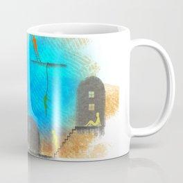 People and houses Coffee Mug