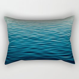Sunset Blue Rectangular Pillow