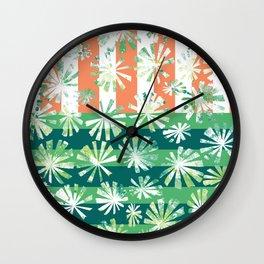 Fan Palm - Rincon Wall Clock