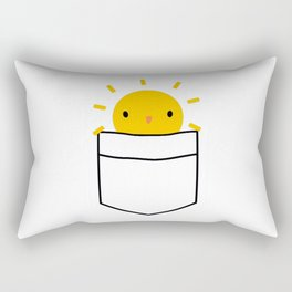 Pocket Full Of Sunshine Rectangular Pillow