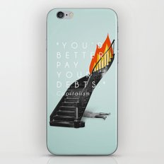Capitalism. iPhone & iPod Skin