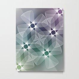 Ah Um Design #016a Metal Print