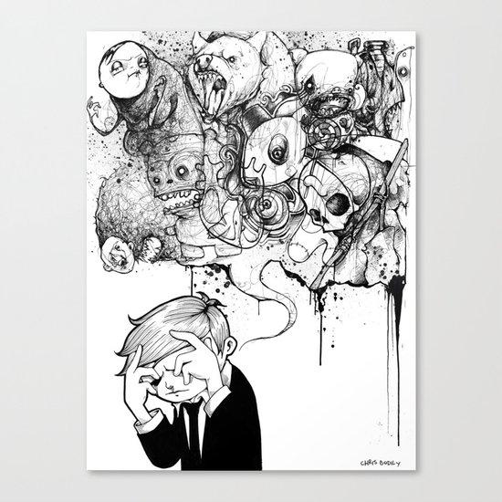 A Heavy Heart Canvas Print