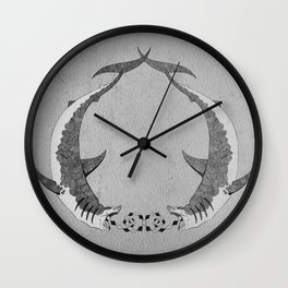 2shark Wall Clock