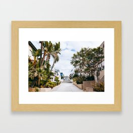 Manhattan Beach - Los Angeles, USA - #11 Framed Art Print