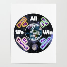 Advent Guard Earth We All Win Poster
