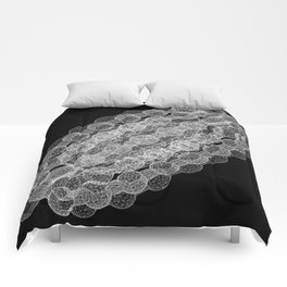 GEOMETRIC NATURE: COULOMB CRYSTAL b/w Comforters