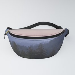 Sunset in the Santa Cruz Mountains Fanny Pack