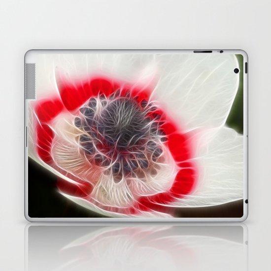 Multi Coloured Anemone Laptop & iPad Skin
