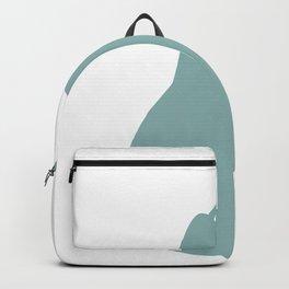 pear fruit green color pastel | elegant Backpack
