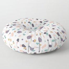 Pastel Terrazzo Floor Pillow