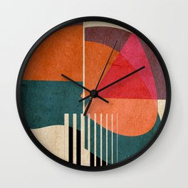 in the autumn Wall Clock