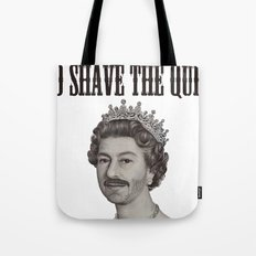 God shave the Queen Tote Bag