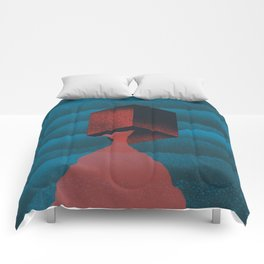 RED CUBE Comforters