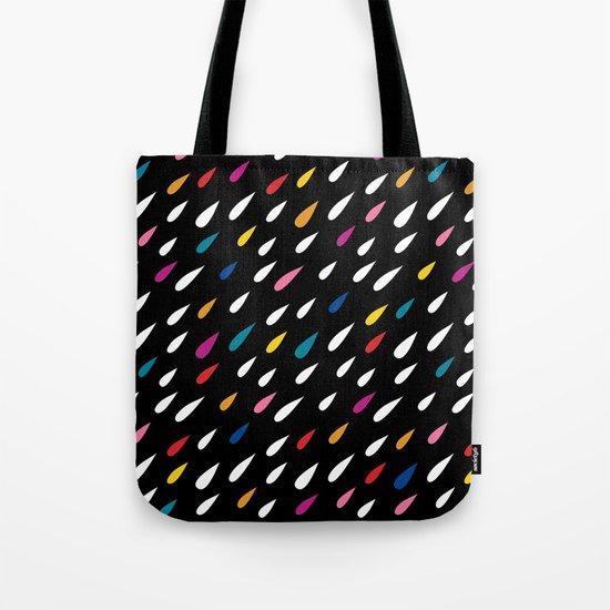 Bright Droplets Tote Bag