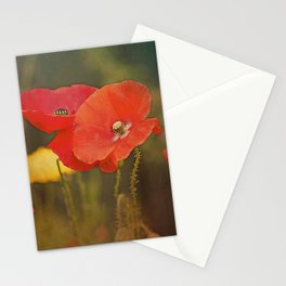 Poppies vintage (6) Stationery Cards