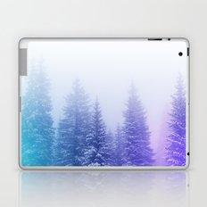 Blue and Purple Pines Laptop & iPad Skin