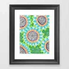 Sharpie Doodle 4 Framed Art Print