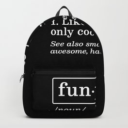 Grandpa - FunPa Only Cooler Backpack